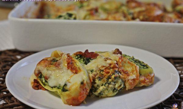 Girelle di ricotta e spinaci al forno