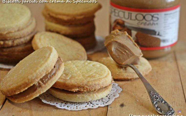 Biscotti farciti con crema di Speculoos