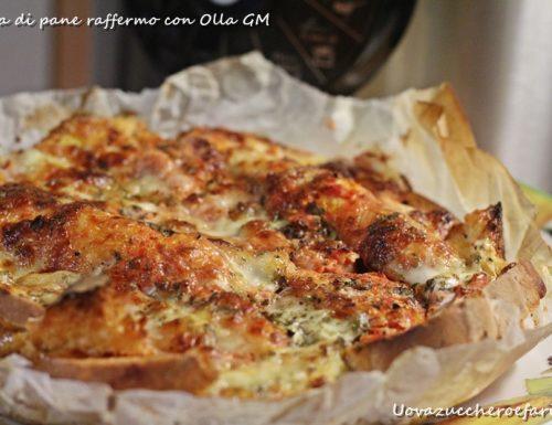 Torta di pane raffermo con Olla GM