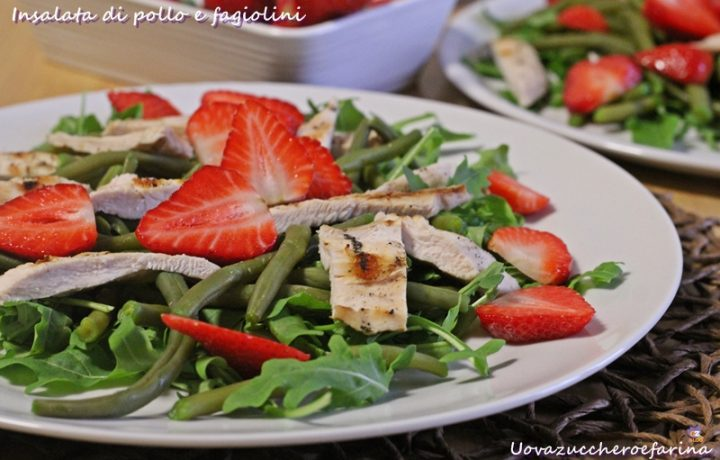 Insalata di pollo e fagiolini ricetta Melarossa