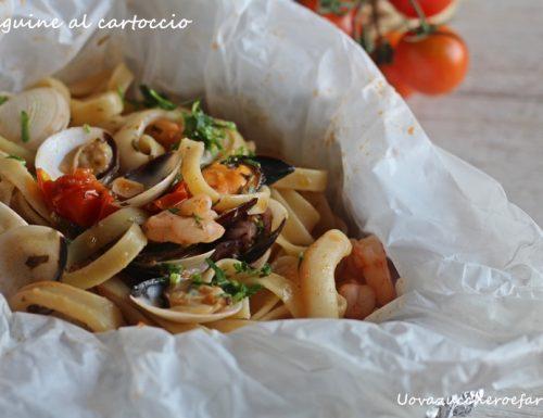 Spaghetti o linguine al cartoccio