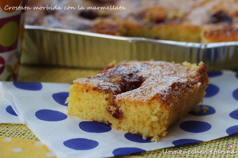 Crostata morbida con la marmellata