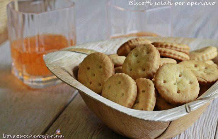 Biscotti salati per aperitivo