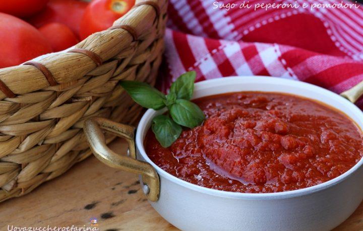 Sugo di peperoni e pomodori