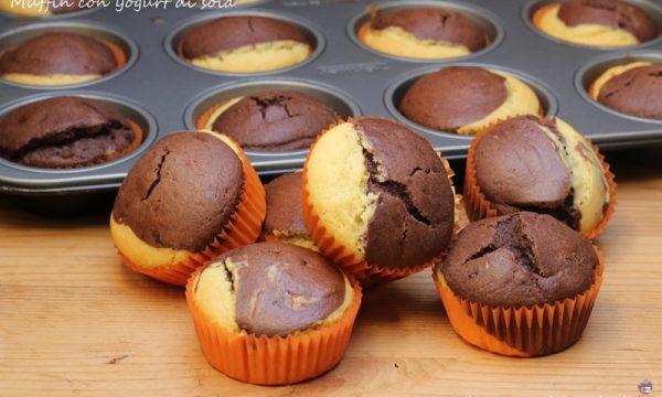 Muffin con yogurt di soia per intolleranti
