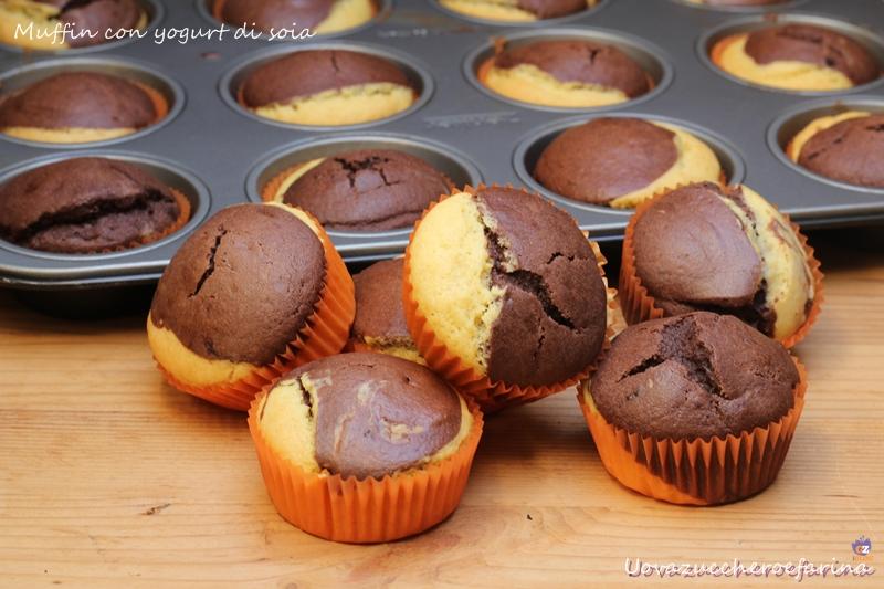 muffin con yogurt di soia
