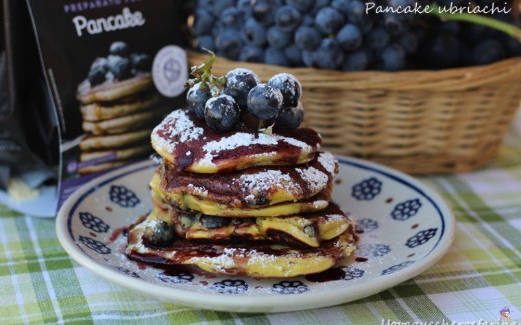 Pancake ubriachi (con uva fragola)