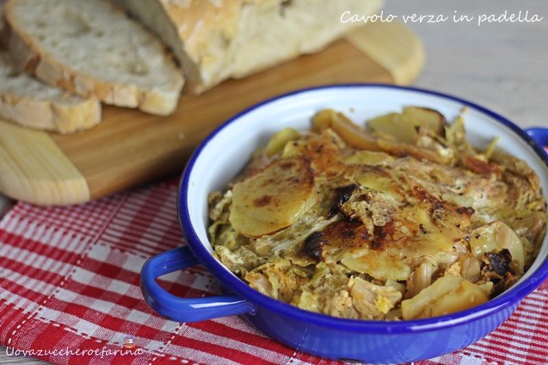 Cavolo verza in padella: ricetta casalinga per la cucina di tutti i ...