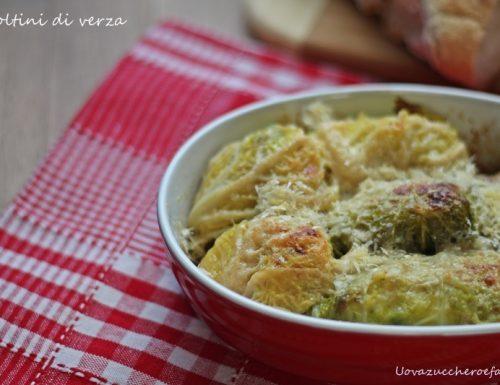 Involtini di verza con patate