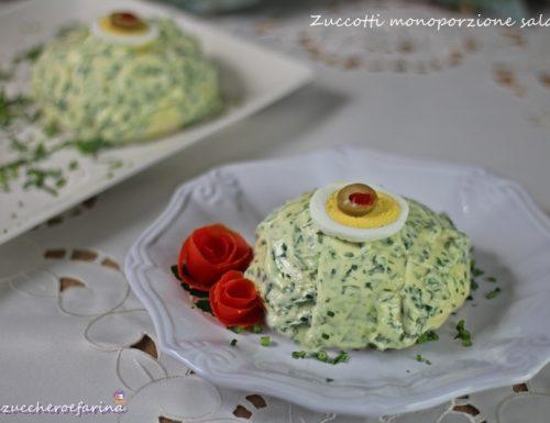 Zuccotti monoporzione salati