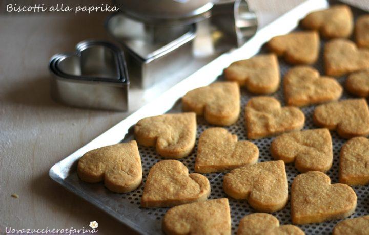 Biscotti alla paprika e formaggio idea San Valentino