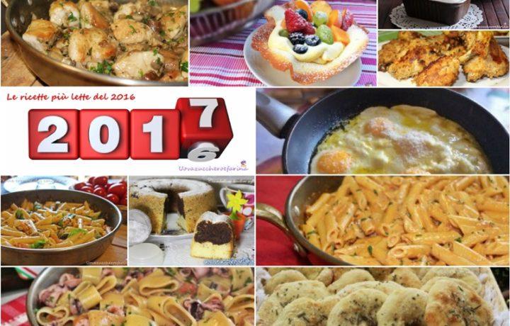 Le ricette più lette del 2016
