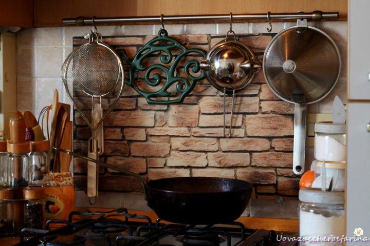 frittelle con farina di castagne e pannello paraschizzi