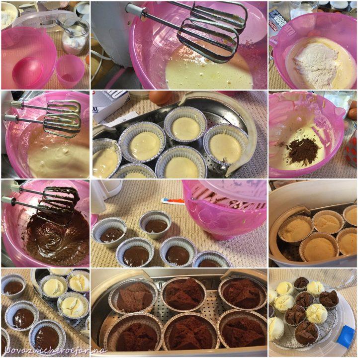 ricetta passo passo dei muffin giapponesi con cottura a vapore