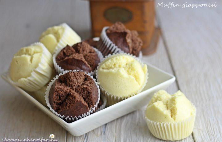 Muffin giapponesi cotti a vapore