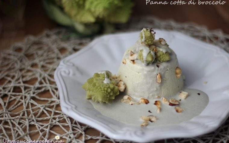 Panna cotta di broccolo