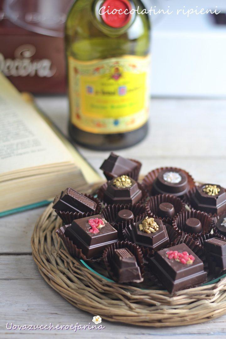 come fare i cioccolatini ripieni a casa propria