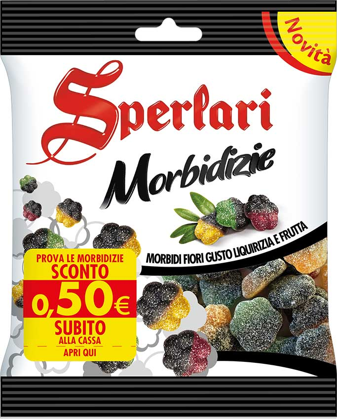 caramelle gommose Sperlari Morbidizie