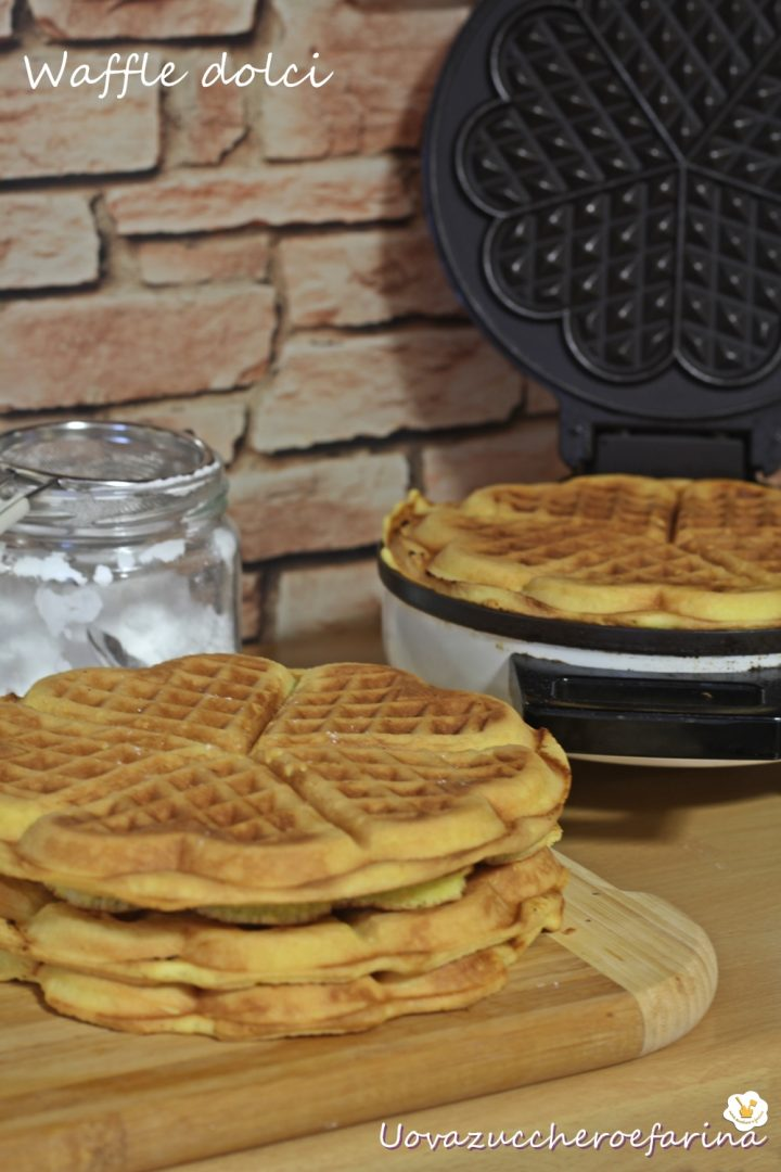 ricetta waffle dolci Gaufres