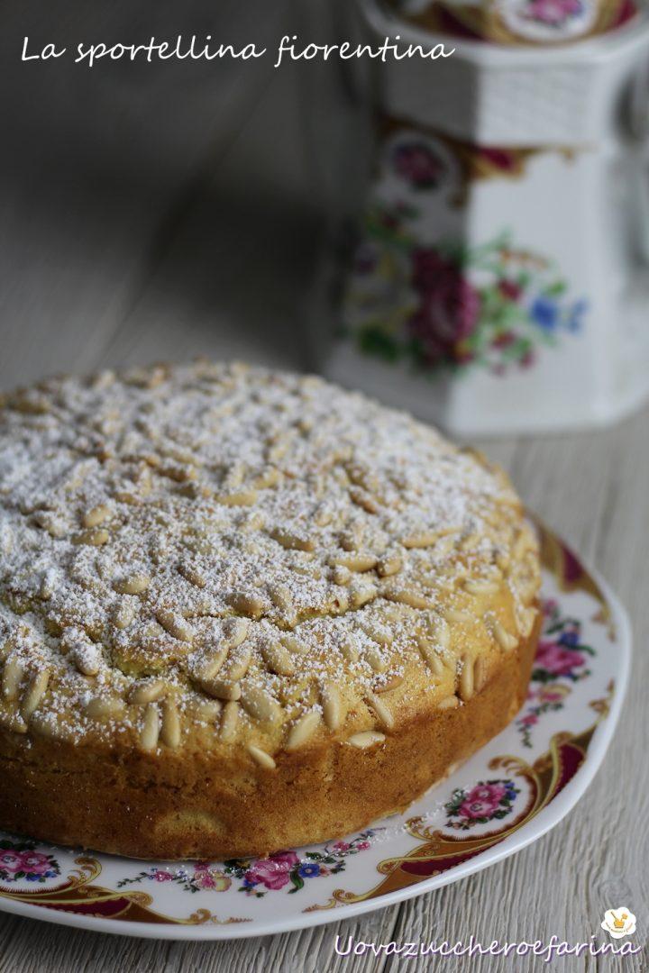 torta pinoli fiorentina ricetta pasqua