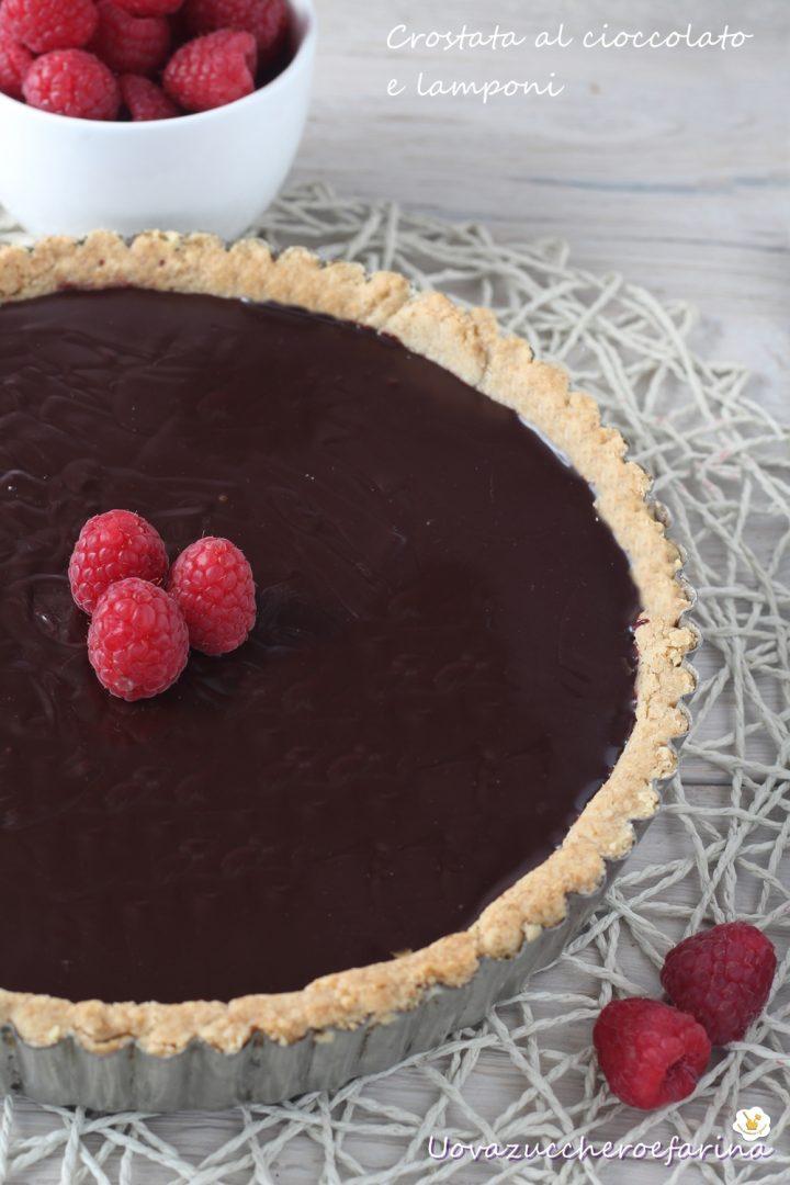 crostata cioccolato lamponi Ernst Knam