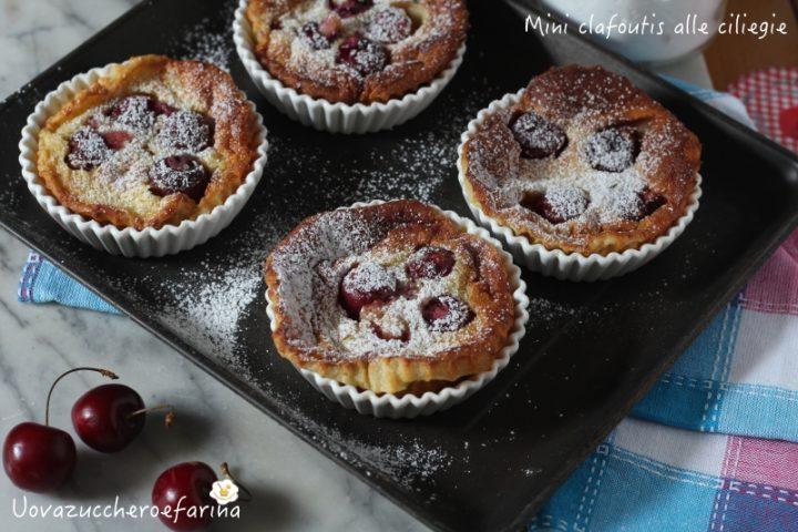 ricetta facile mini clafoutis ciliegie forno
