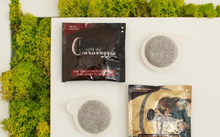 Caffè del Caravaggio: scegli la cialda!