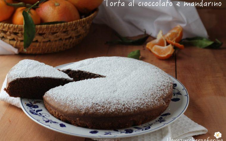 Torta al cioccolato e mandarino