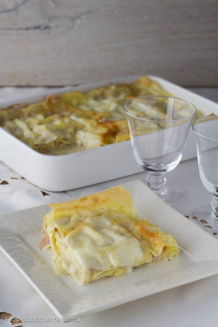 lasagne valdostana prosciutto cotto fontina