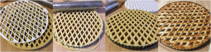 come utilizzare griglia crostata passo passo 04
