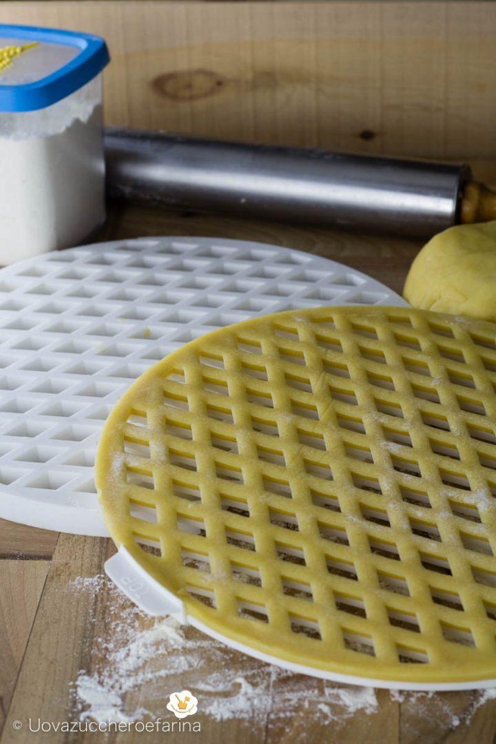 come utilizzare griglia crostate pasta frolla