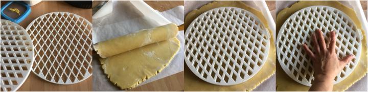 come utilizzare griglia crostate passo passo 01
