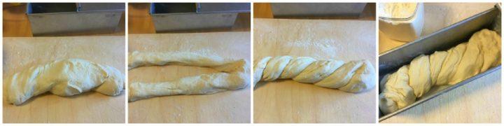 come fare pane cassetta simili treccia
