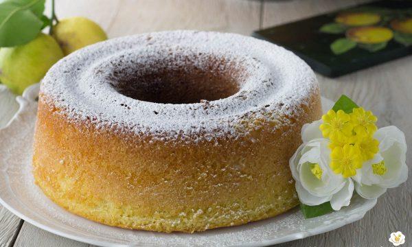 Ciambellone al limone nel fornetto Versilia