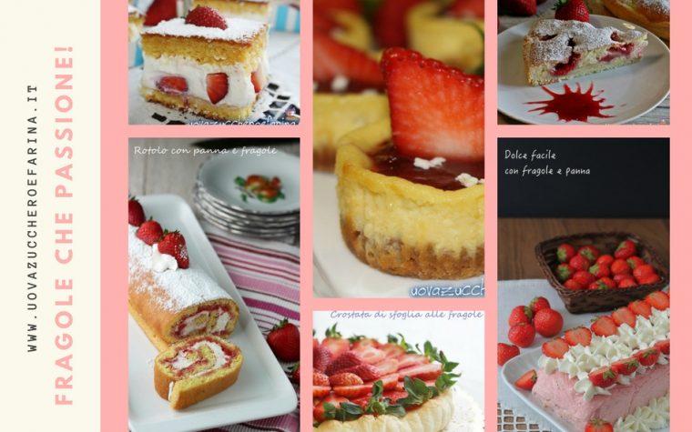 Dieci ricette facili con le fragole
