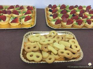 idee buffet compleanno biscotti 18 anni pasta frolla