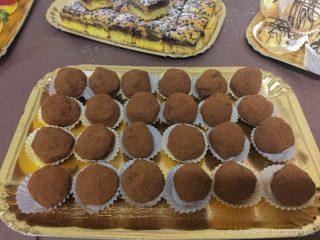 idee buffet compleanno tartufi cioccolato caffè