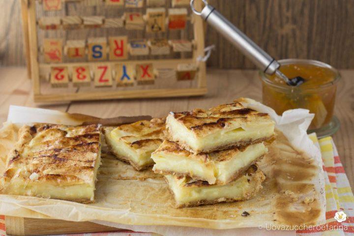 ricetta facile scendiletto crema mele