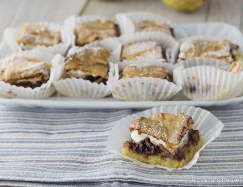 Torta slava con pere e cioccolato