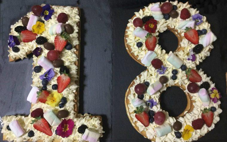 Torta per i 18 anni: la cream tart