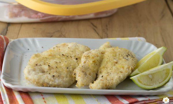 Fettine di petto di pollo al forno
