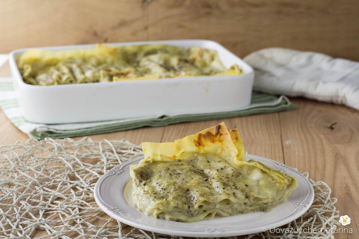 ricetta facile lasagne crema carciofi