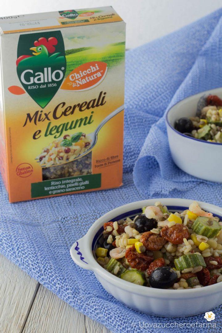 mix cereali legumi zucchine gamberetti riso gallo degustabox maggio