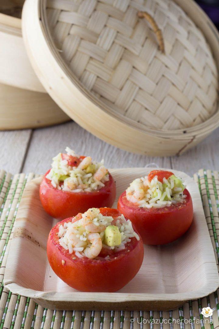 pomodori ripieni riso gamberetti