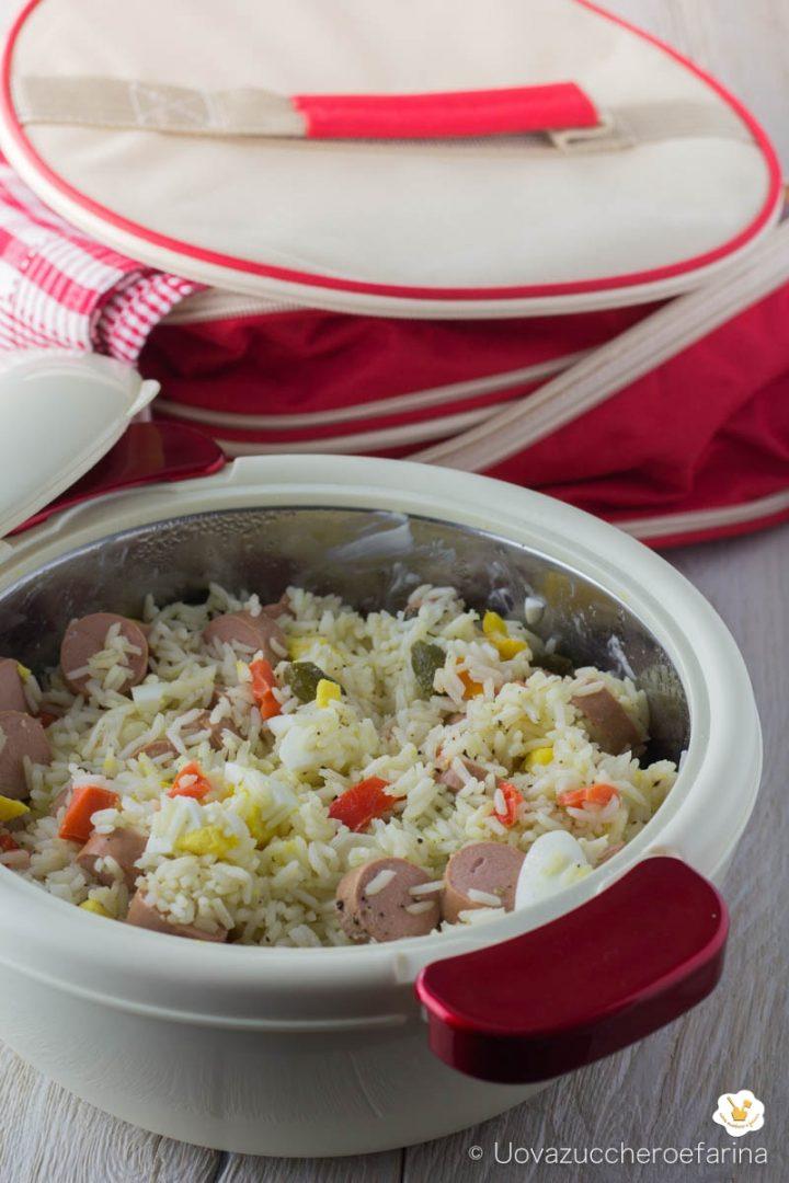 insalata riso tedesca ricetta estiva