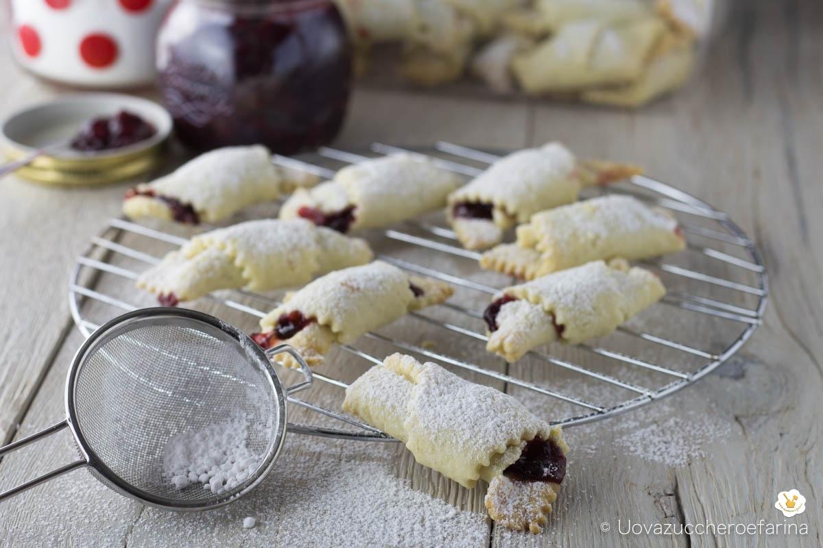 ricetta rogaliki biscotti polacchi marmellata confettura