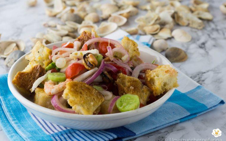 Panzanella croccante di mare del Buongustaio