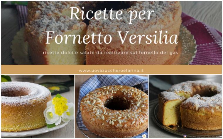 Ricette per Fornetto Versilia dolci e salate