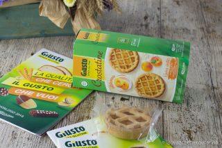 celiachia alimentazione crostatine albicocca linea Giusto senza Glutine Giuliani