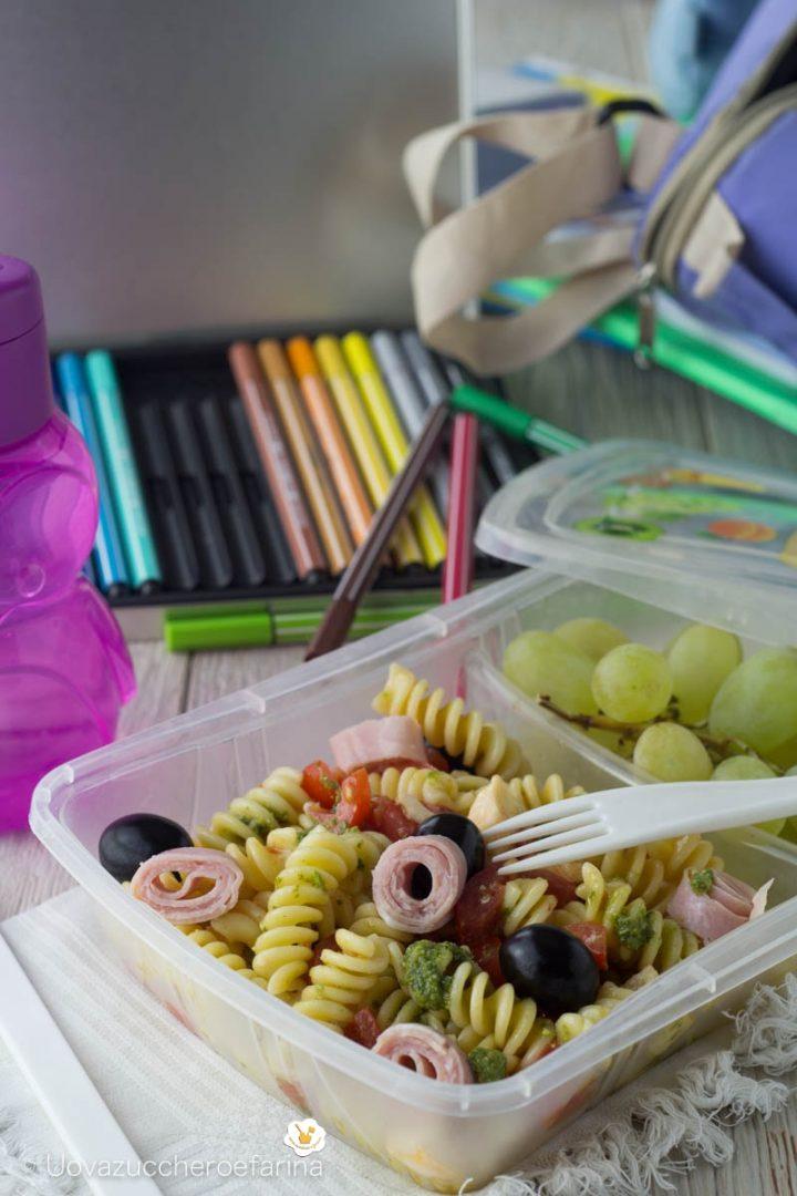 idea menu scuola pranzo asporto